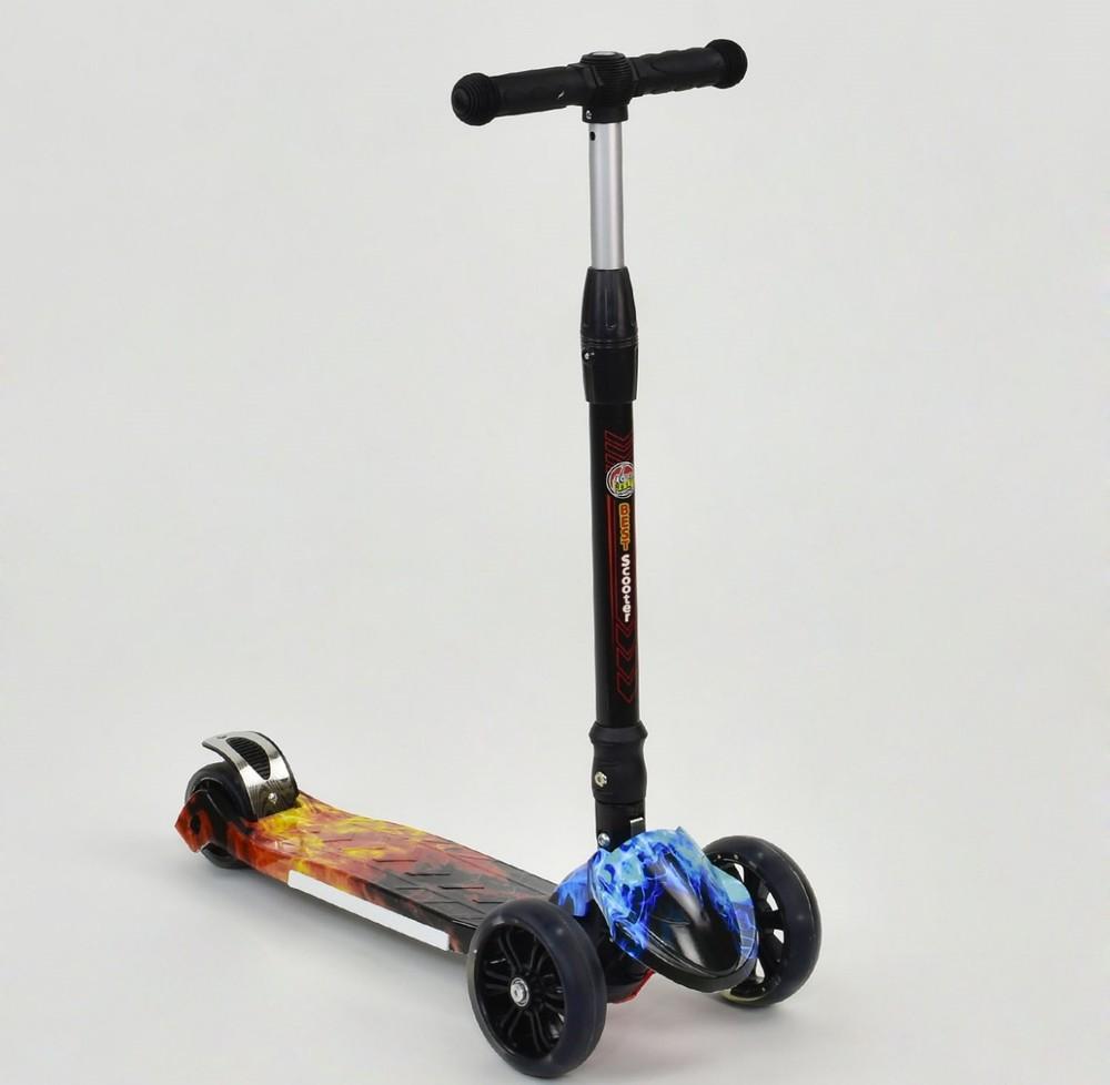 Best scooter maxi ,складной,светящиеся колеса фото №1
