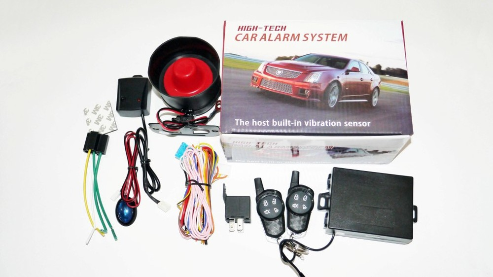 Автосигнализация high-tech односторонняя фото №1