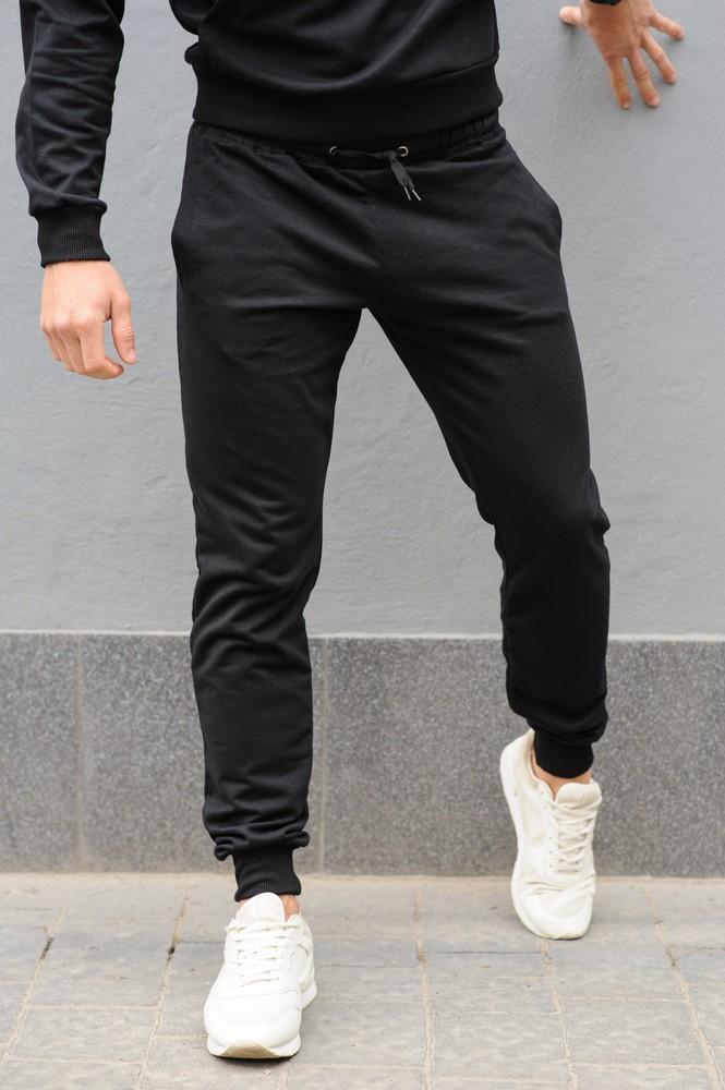 Спортивные мужские штаны штани спортивні чоловічі трикотаж фото №1