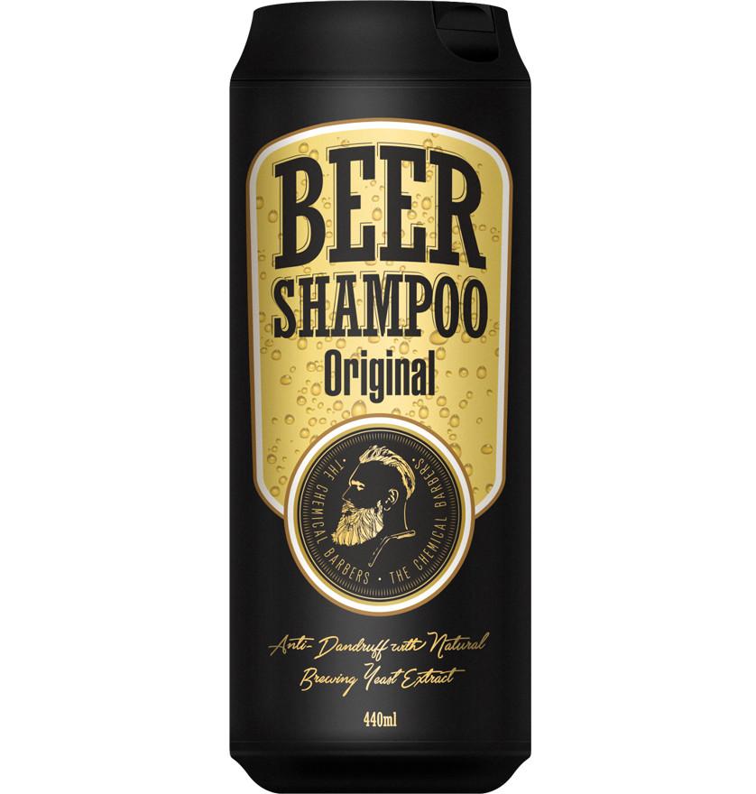Шампунь от перхоти beer shampoo original фото №1
