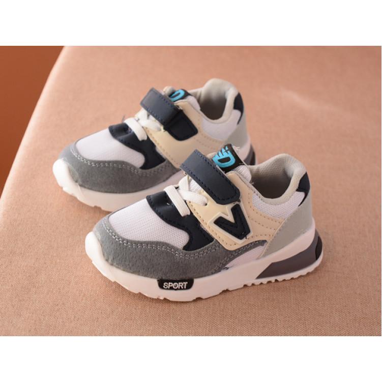 Удобные, легкие модные детские кроссовки фото №1