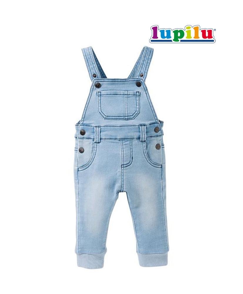 Комбинезон джинсовый 68~74 см lupilu фото №1