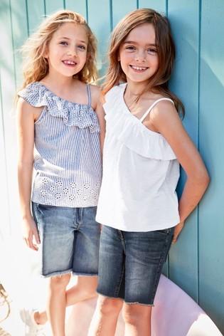 Майка (блуза) next з вишивкою для дівчат розм. 3-16 р. під замовлення фото №1