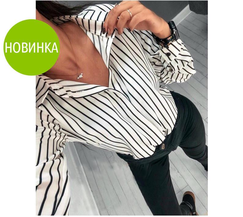 Блуза женская полосатая felicity фото №1