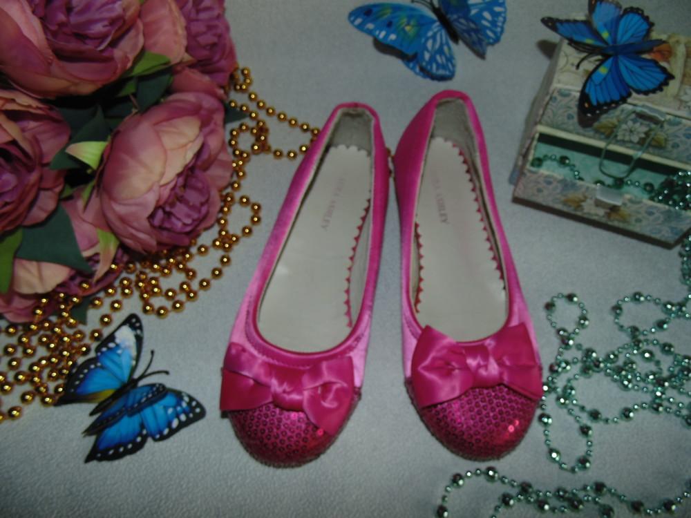 Нарядные балетки laura ashley  32(2)р,ст 20.5 см.мега выбор обуви и одежды! фото №1