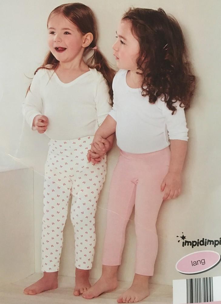 Леггинсы для малышки 74-80 и 86-92 фото №1