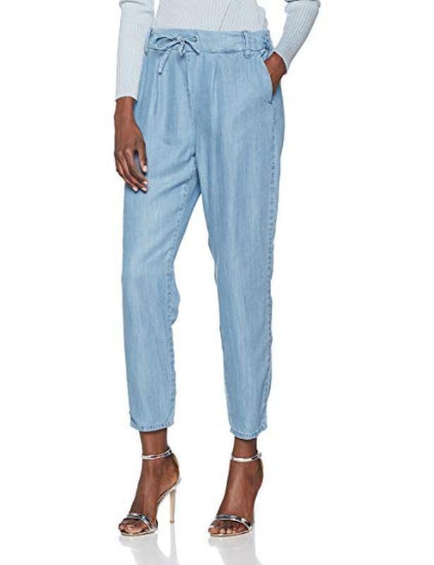 Лёгкие брюки джоггеры, слаксы only размер xs фото №1