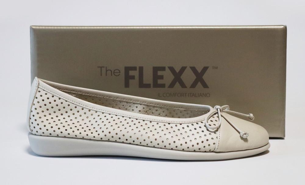 Летние балетки the flexx италия оригинал. натуральная кожа. 36-39 фото №1