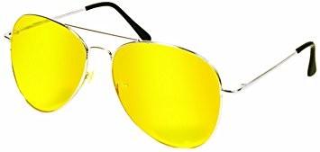Желтые водительские очки (капельки) антифары фото №1