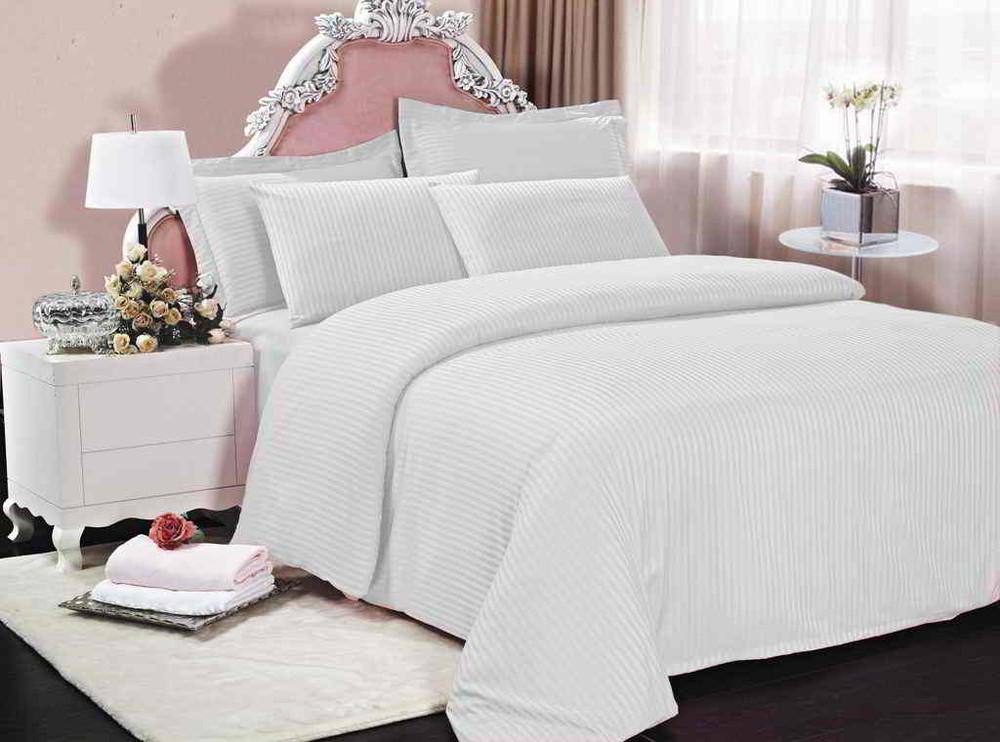 Комплект постельного белья сатин страйп фото №1