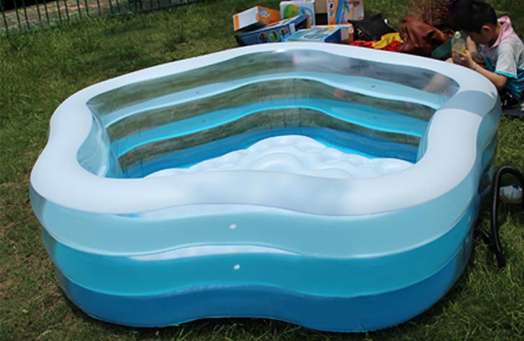 Надувной бассейн intex 56495 (185 х 180 х 53 см) фото №1
