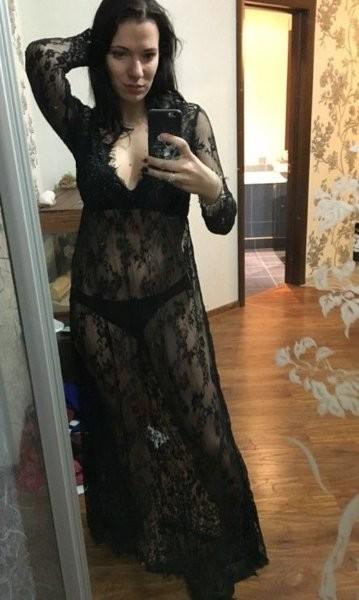 Длинный пеньюар-платье для беременных  4 цвета фото №1