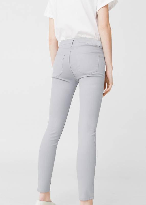 Серые брюки crazy lover slim fit (m) фото №1