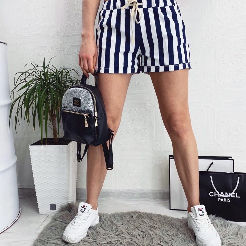 Модные летние женские шорты фото №1