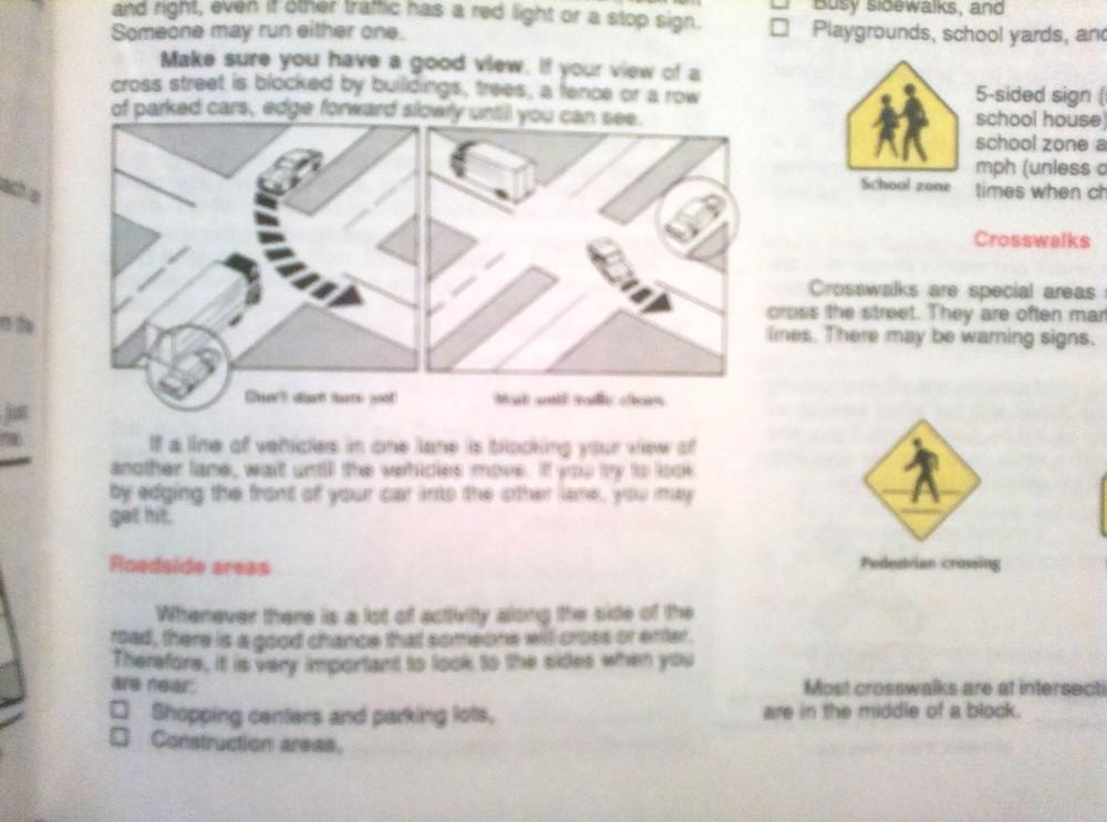 76 стр. иллюстрированное пособие для водителей сша на английском языке фото №1