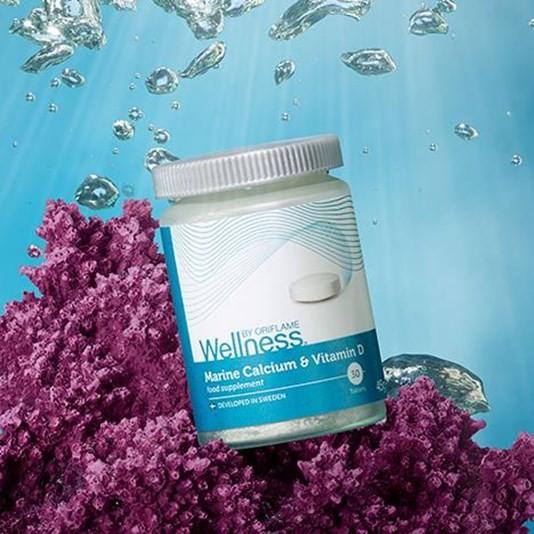 Комплекс «морской кальций и витамин d» от oriflame фото №1