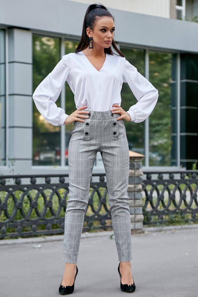 Летние стильные брюки 1196 фото №1