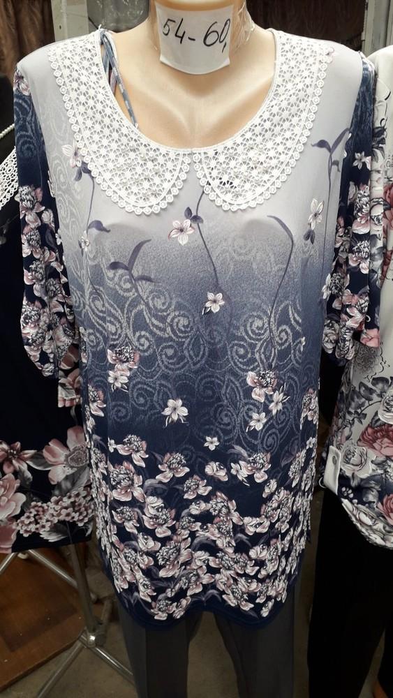 Блузка великого розміру 54 56 58 60 фото №1