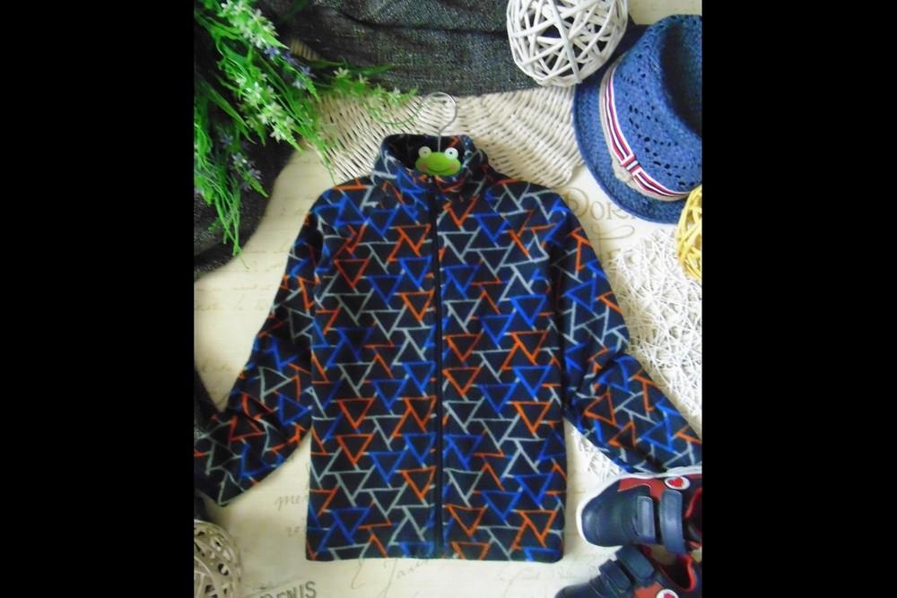 3-4года.флисовая толстовка mountain warehouse.mега выбор обуви и одежды фото №1