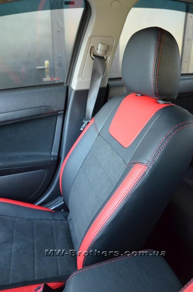 Представляем качественные чехлы leather style на mitsubishi фото №1