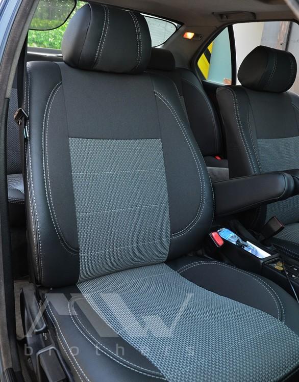 """Автомобильные чехлы для сидения от """"mw-brothers"""" на bmw фото №1"""