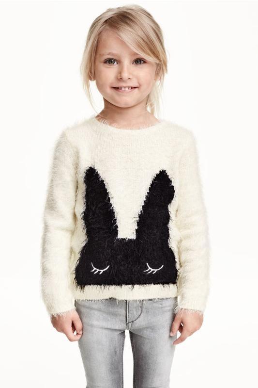 6-8лет.гламурный свитерок h&m.мега выбор обуви и одежды! фото №1