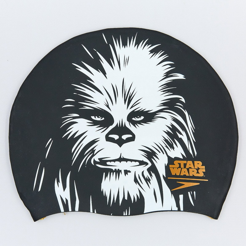 Шапочка для плавания star wars chewbacca 85c743: силикон, черный фото №1