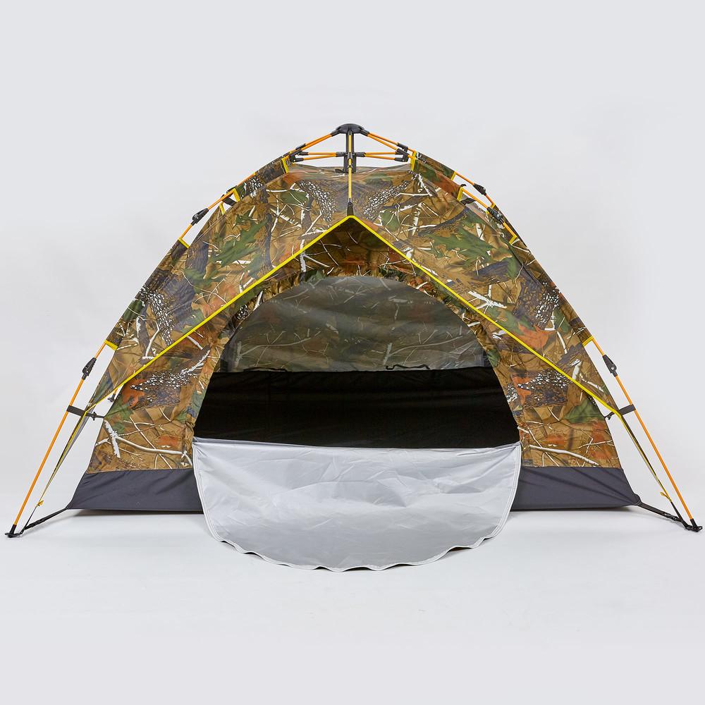 Палатка-автомат с автоматическим каркасом двухместная туристическая 0538: размер 2х1,5х1,25м фото №1