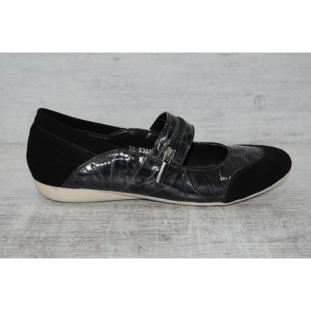 Кожаные туфли, балетки,  кожа распродажа последних размеров -70% фото №1