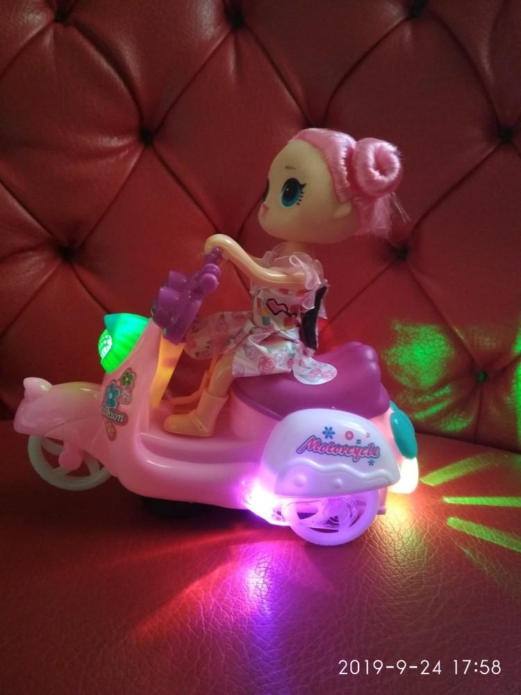 "Кукла сюрприз набор ""lol на мопеде"" свет+музыка фото №1"