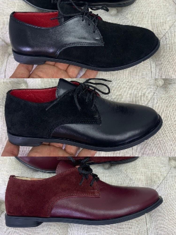 Туфли натуральная кожа ,замш 36-40 фото №1