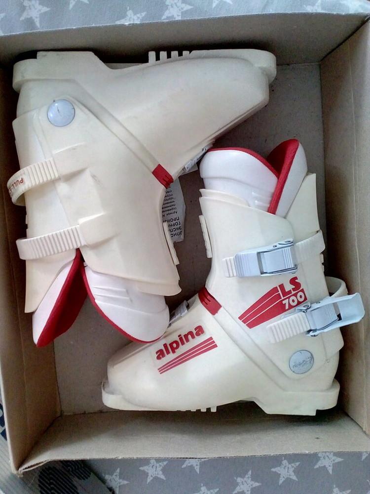 Горнолыжные лыжные ботинки alpina югославия фото №1