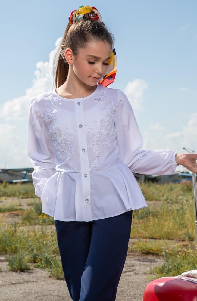 Крутая блуза для девочек фото №1