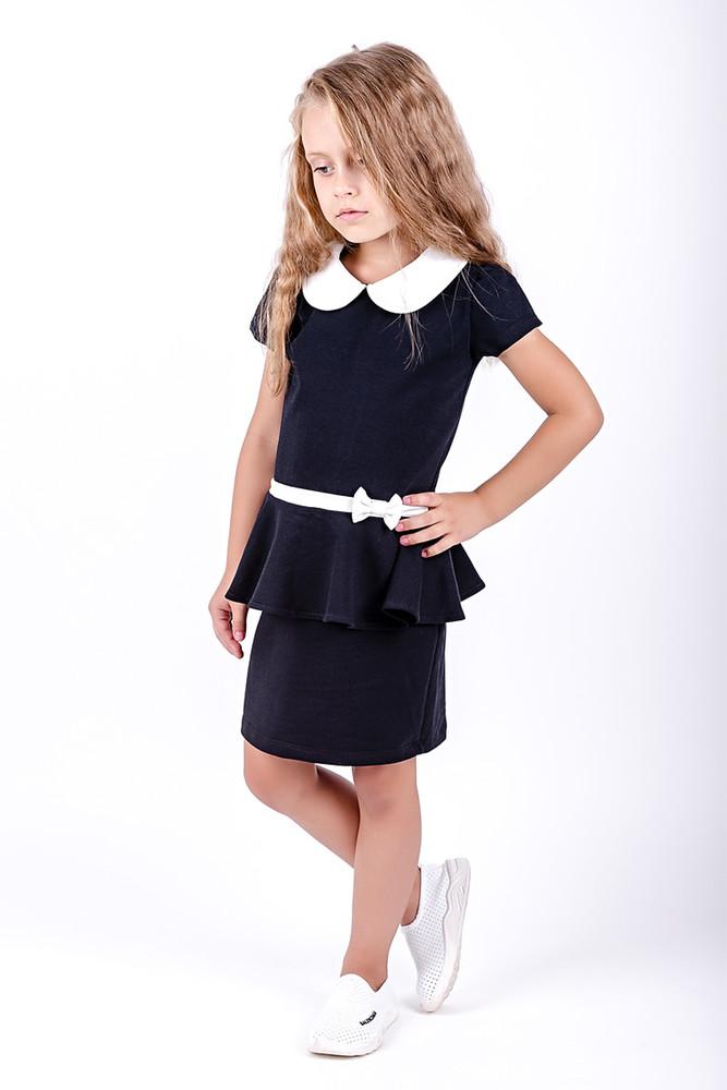 Платье школьное для девочек фото №1