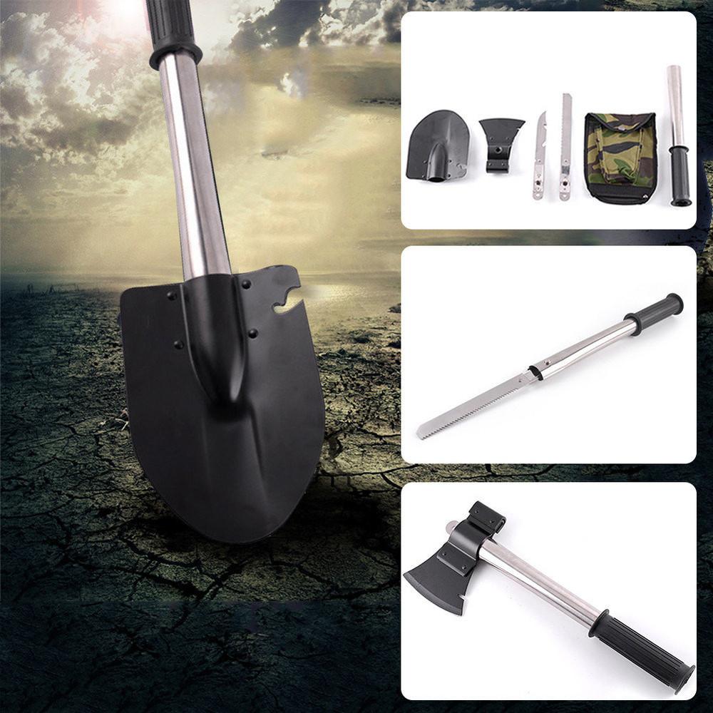 Туристический набор 4 в 1 (лопата/нож/пила/топор) фото №1