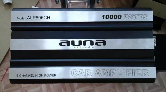 Автомобильный усилитель auna w1-amp806ch фото №1