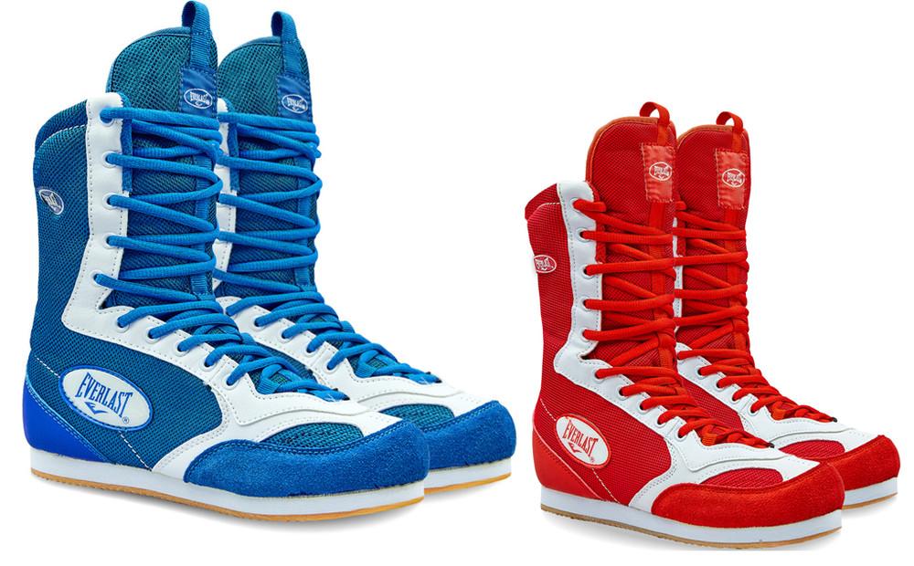 Обувь для бокса боксерки замшевые elast gbs-50: размер 35-45 (2 цвета) фото №1