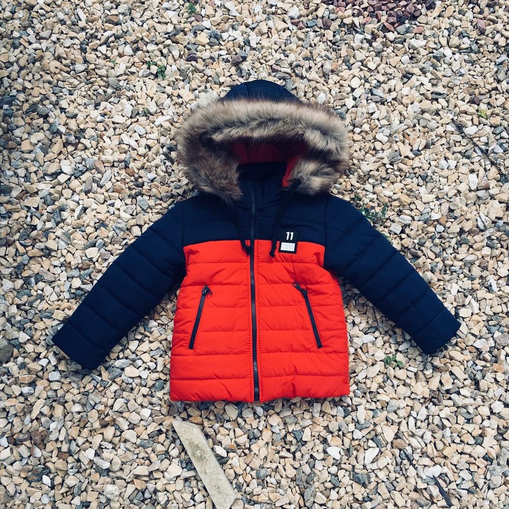 Зимняя куртка на мальчика 3-6 лет, a3121 фото №1
