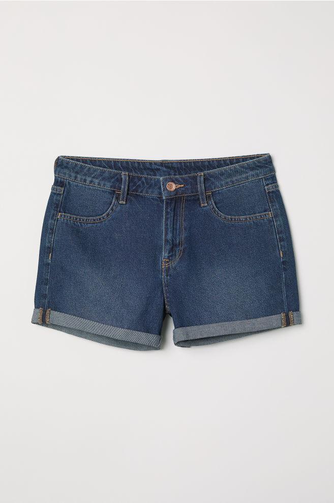 Женские джинсовые шорты фото №1