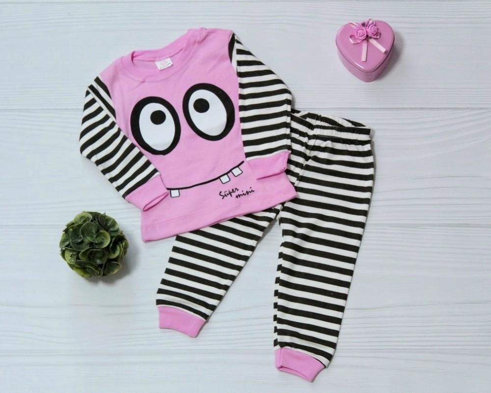 Прикольная пижама для девочки. турция 1-3 года фото №1