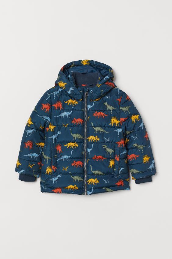 Куртка на мальчика демисезон-еврозима h&m динозавры фото №1