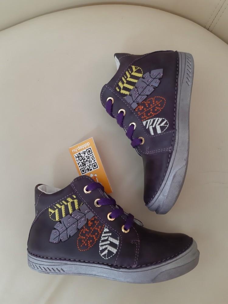 Ботинки для девочки от dd step, новинки осени фото №1