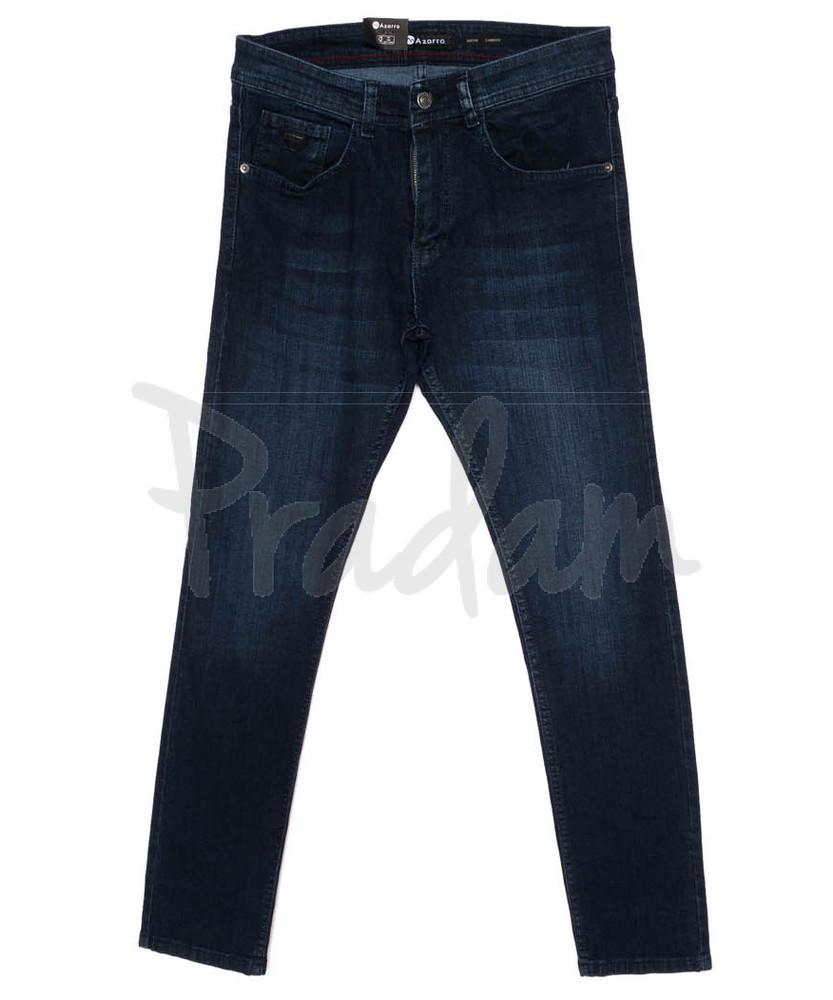 Джинсы мужские синие осенние стрейчевые р 29-38 код 23 10987 аzarro турция фото №1
