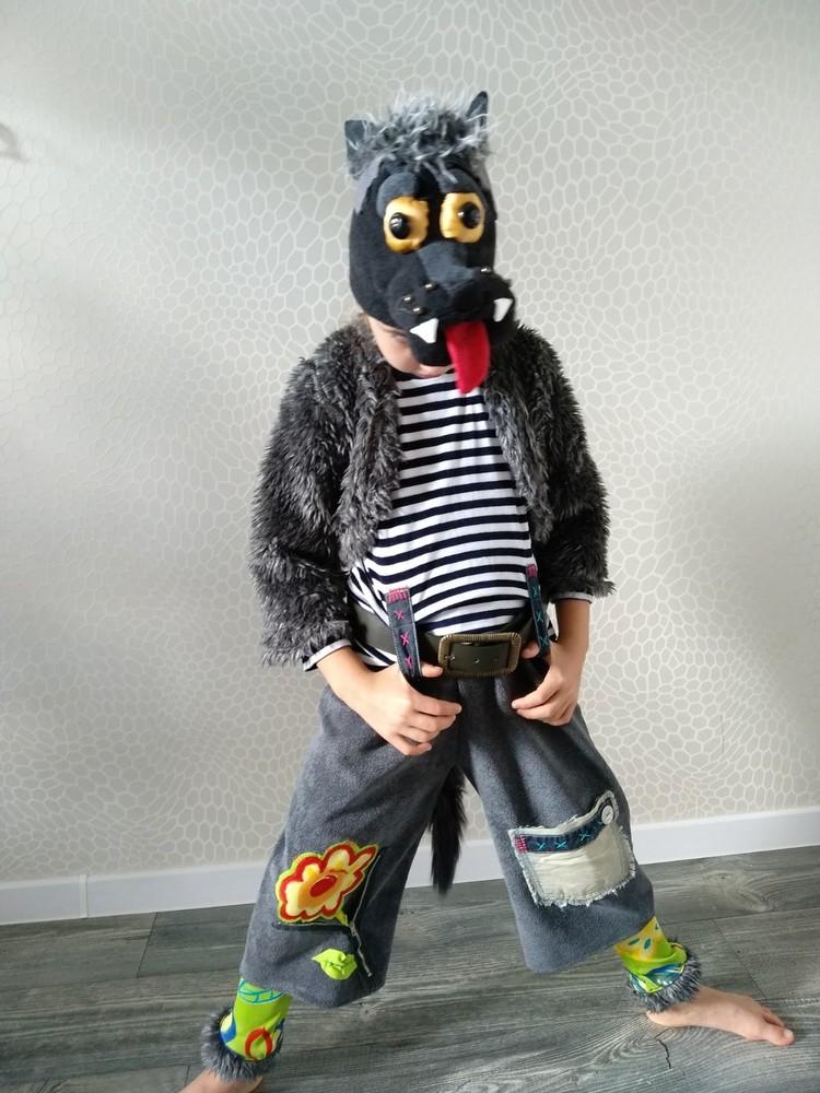 Прокат карнавальный костюм вовка волка вовка вовченя новогодние,на утренник киев для мальчика фото №1