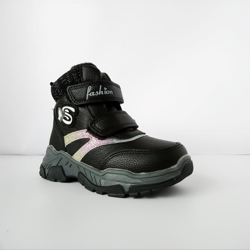 Деми сапоги-ботинки девочкам, р. 27, стелька 16,5 см фото №1