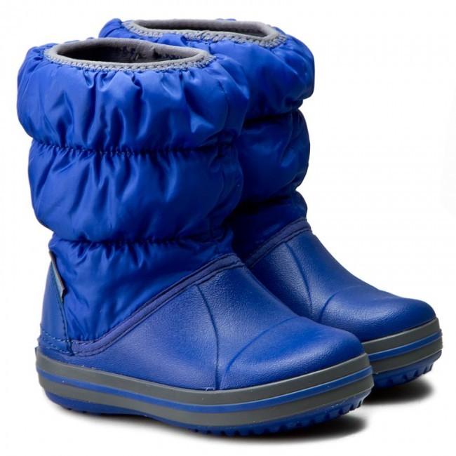 Зимние сапожки crocs winter puff boot kids, размер j1 фото №1