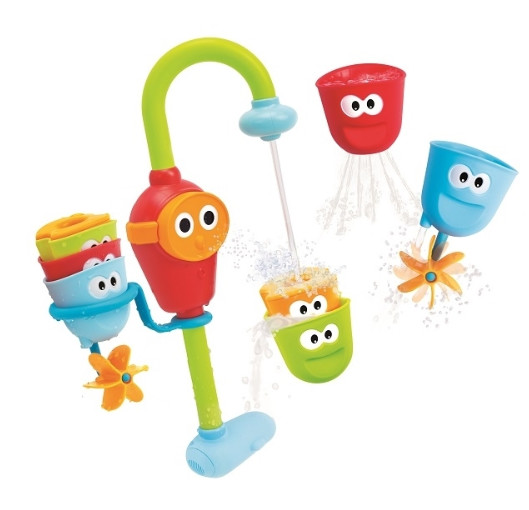 Yookidoo игрушка іграшка у ванну веселий краник фото №1