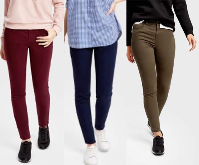 Стильные котоновые штаны ostin брюки хлопок стрейч скинни фото №1