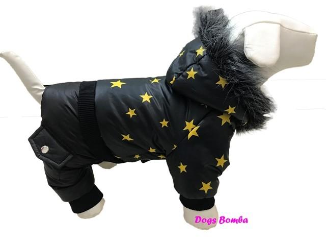 Зимний комбинезон для собак a-37 фото №1