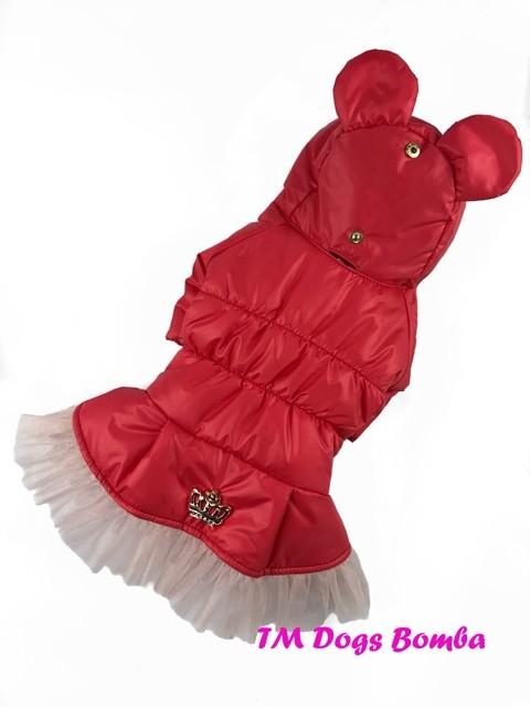 Зимняя куртка для собачек k-49 фото №1